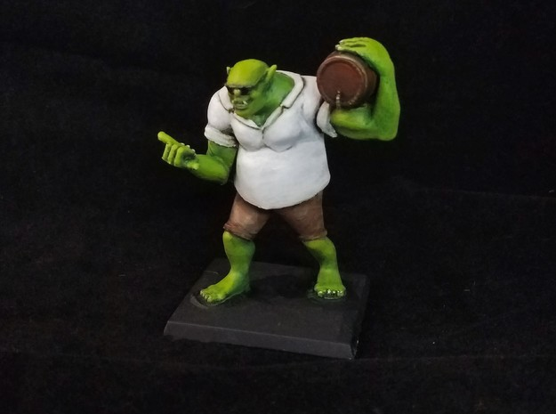 Party Ogre! in Smooth Fine Detail Plastic