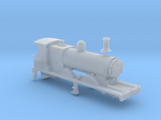 L&YR Class 28 (29) Mogul Experiment - Body (FUD) in Smooth Fine Detail Plastic