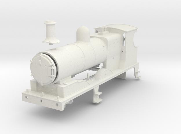 L&YR Class 28 (657) - (WSF) in White Natural Versatile Plastic