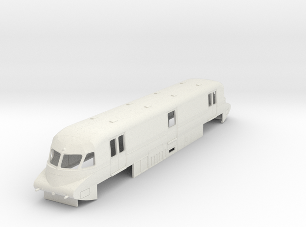 o-76-gwr-parcels-railcar-no-17-late in White Natural Versatile Plastic