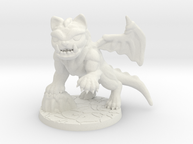 SDE monster cat spawn dragon cat  in White Natural Versatile Plastic