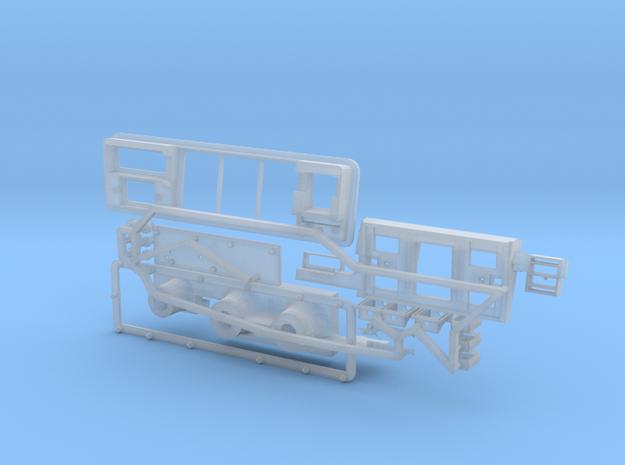 trxb08-02 TRX4 Bronco Dash Parts in Smooth Fine Detail Plastic