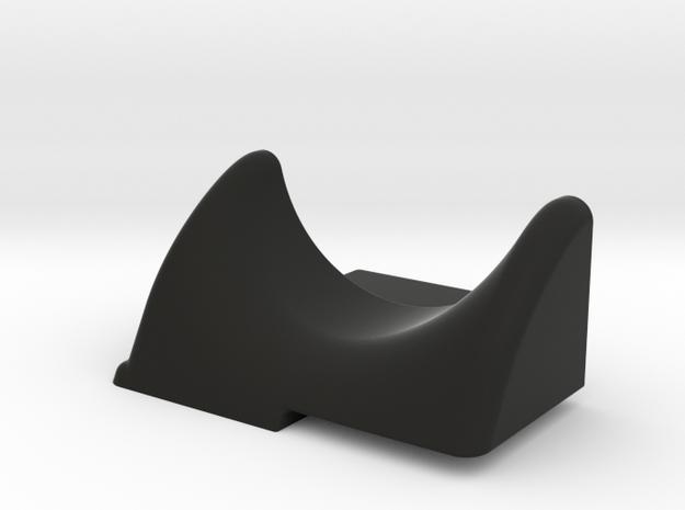 SWORKz S14-3 Fan Holder WTF in Black Natural Versatile Plastic