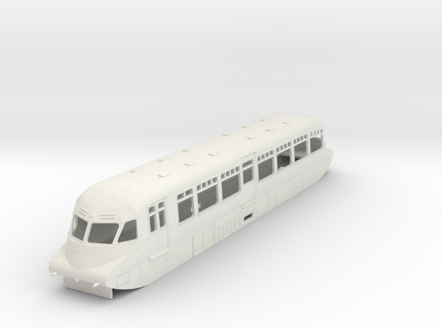 o-76-gwr-railcar-no-5-16 in White Natural Versatile Plastic