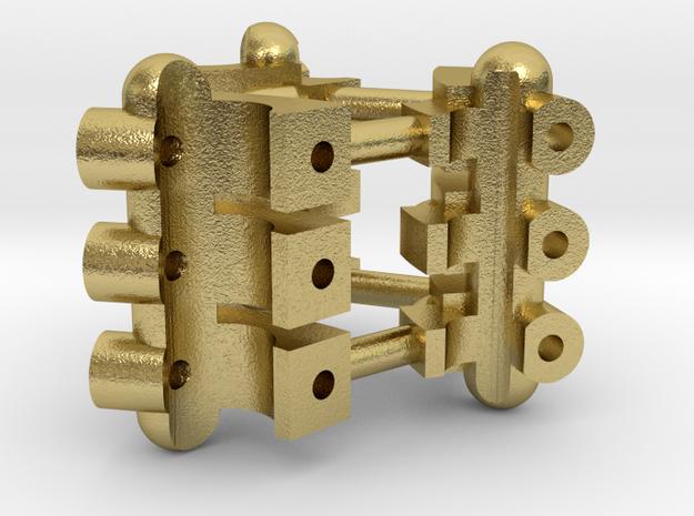 Part 01 Plasma Gate 2.0 tech-details in Natural Brass