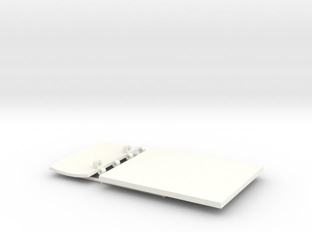 BERLINE PART 3  in White Processed Versatile Plastic