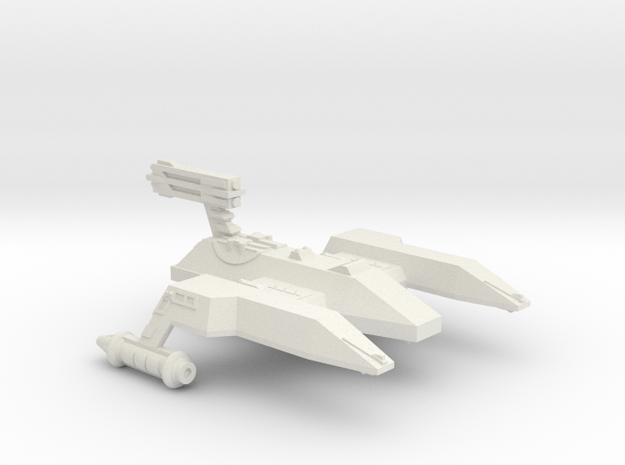 3788 Scale Lyran Lioness Heavy Cruiser (CAL) CVN in White Natural Versatile Plastic