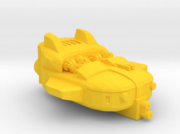 10mm SCIFI Genetic Infantry Sky Skimmer in Yellow Processed Versatile Plastic