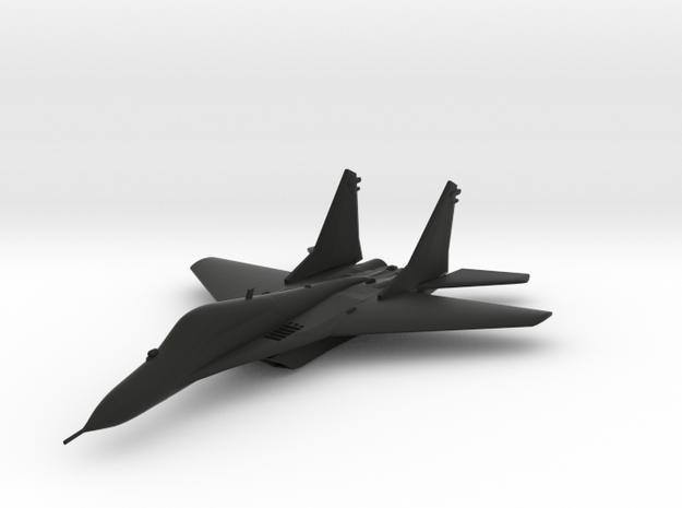 Mikoyan-Gurevich MiG-29 in Black Natural Versatile Plastic
