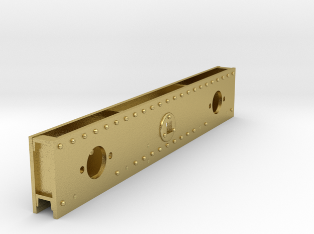 NS 5500 bufferbalk voor NS versie in Natural Brass