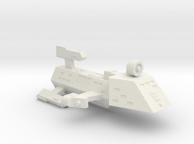 3788 Scale Kzinti Escort Frigate (EFF) SRZ in White Natural Versatile Plastic