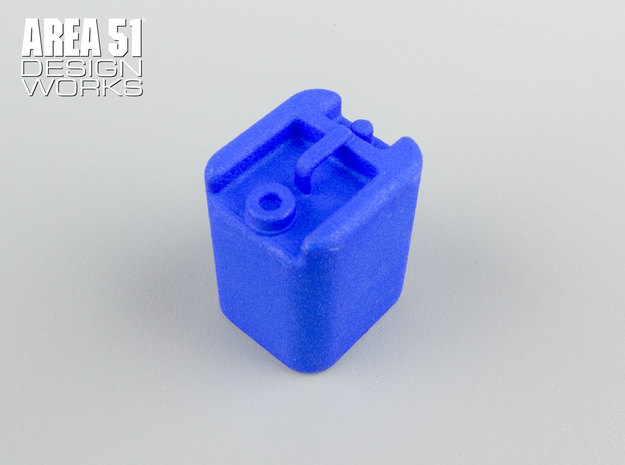 12th Scale Water Container in Blue Processed Versatile Plastic