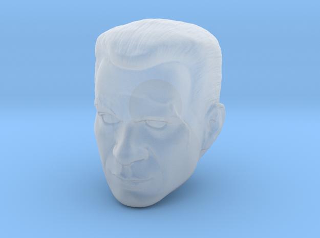 Commander Cody Head Sculpt 6 inch in Smooth Fine Detail Plastic