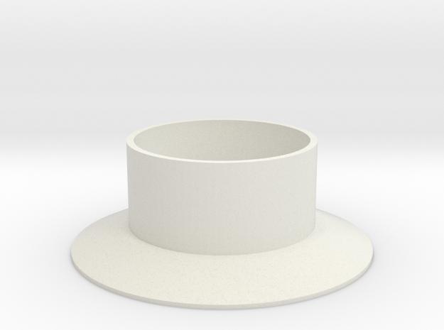Turmfundament für Herpa Windrad in White Natural Versatile Plastic