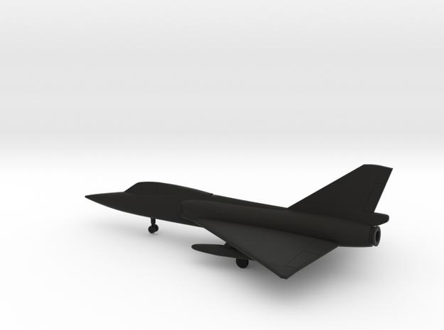 Convair F-106B Delta Dart in Black Natural Versatile Plastic: 6mm