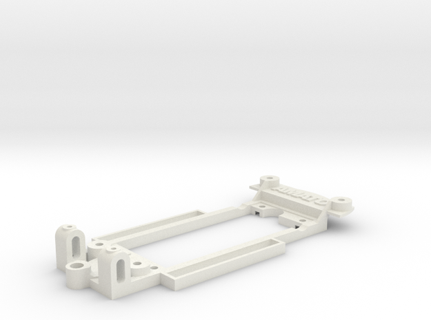 Chassis for Ninco AC Cobra in White Natural Versatile Plastic