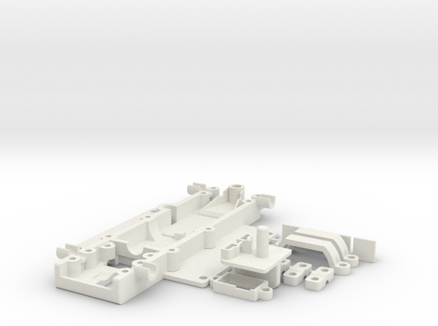 GRC_Porsche962dnanoDigi in White Natural Versatile Plastic