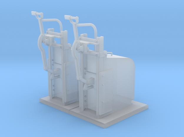 HO - Sectionneurs 3ème rail PSL in Smoothest Fine Detail Plastic