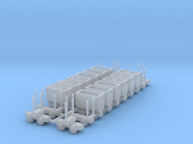 Grubenbahn Set2 - TTf 1:120