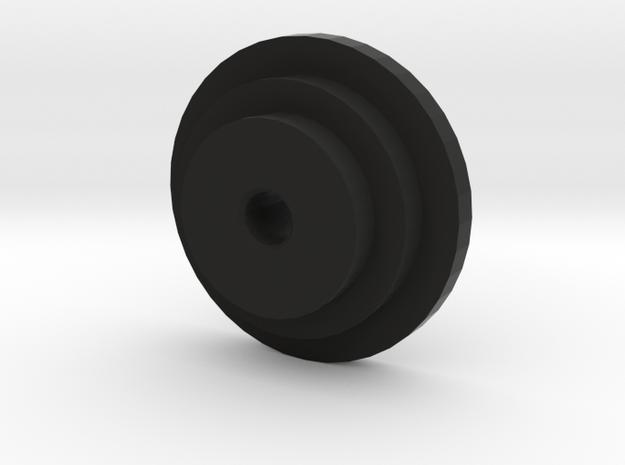 CMAX Bronco Spring Seat 2 Step in Black Natural Versatile Plastic