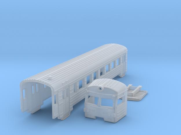 ER2t electric train shells 2020 new model  N Gauge in Smooth Fine Detail Plastic: 1:160 - N