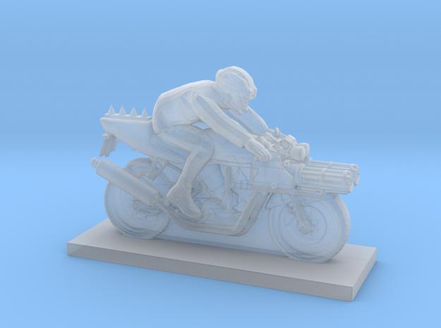 Biker - V8 in Smooth Fine Detail Plastic
