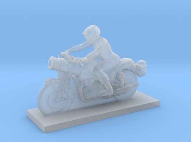 Biker - V4 in Smooth Fine Detail Plastic