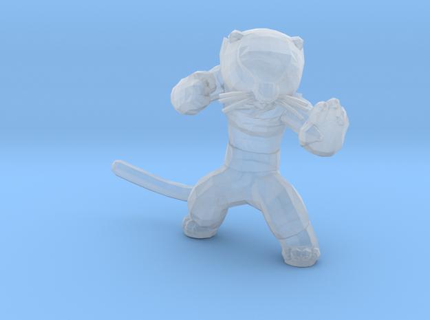 Ninja Weasel in Smooth Fine Detail Plastic