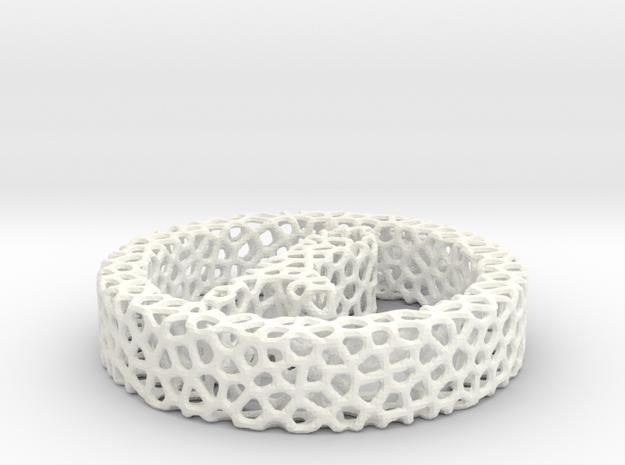 voronoi in White Processed Versatile Plastic