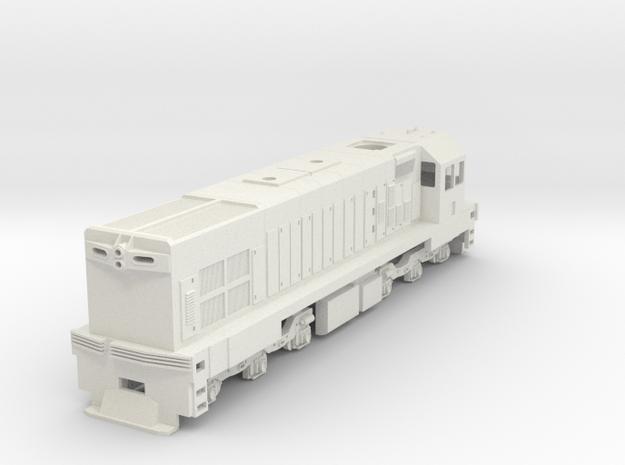1:76 Scale NZR DC in White Natural Versatile Plastic