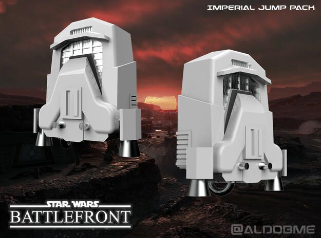 Star Wars Jump Pack (Imperial) in White Premium Versatile Plastic