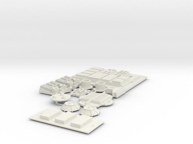 Dengar SW in White Natural Versatile Plastic