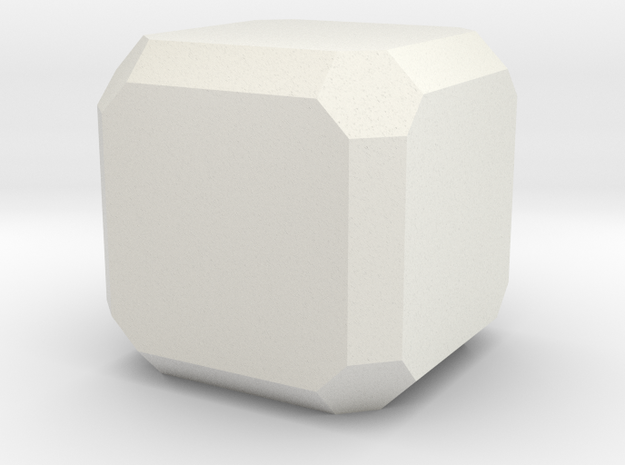 Spinel 3 in White Natural Versatile Plastic