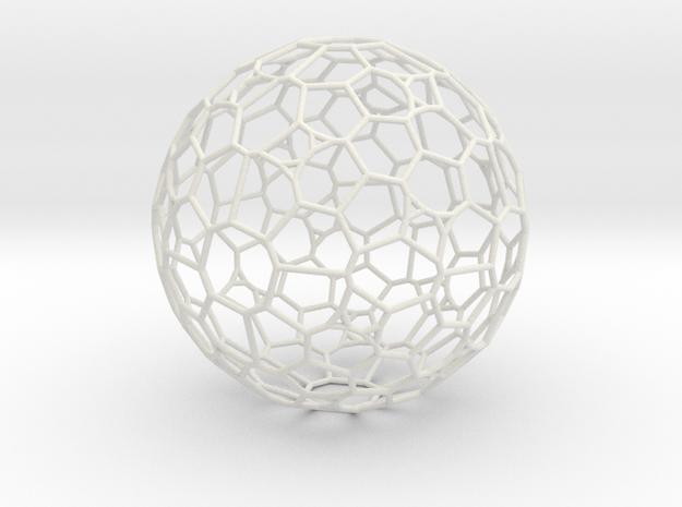 "Gigantic ""irregular"" polyhedron in White Natural Versatile Plastic"