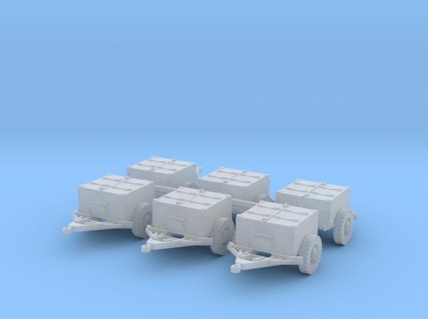 M8 armoured limber (6 pieces) 1/285