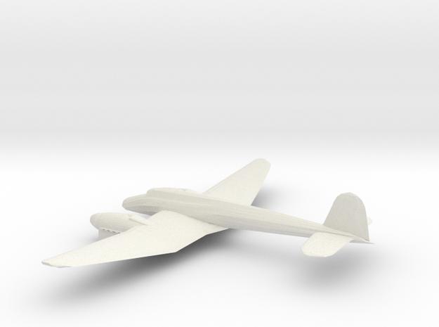 1/72 Focke Wulf 187 in White Natural Versatile Plastic
