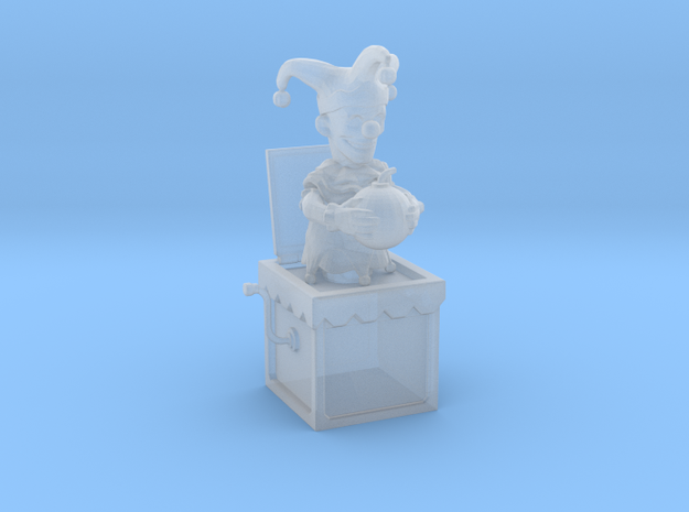 Jack in the box in Smooth Fine Detail Plastic