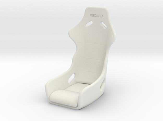 Vanquish Ripper - Seat in White Natural Versatile Plastic