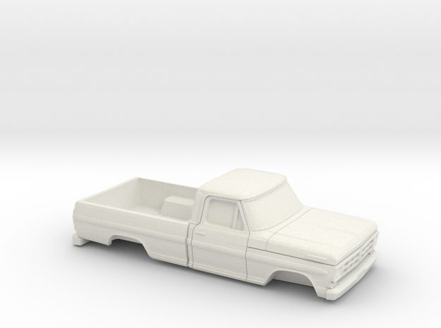 1/32 1972 Ford F-Series RegCab RegBed Kit in White Natural Versatile Plastic
