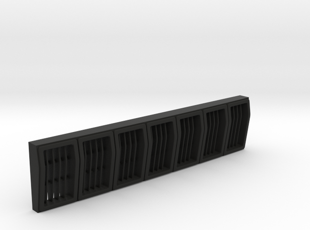 XJ 7 slot grill Jerp in Black Natural Versatile Plastic