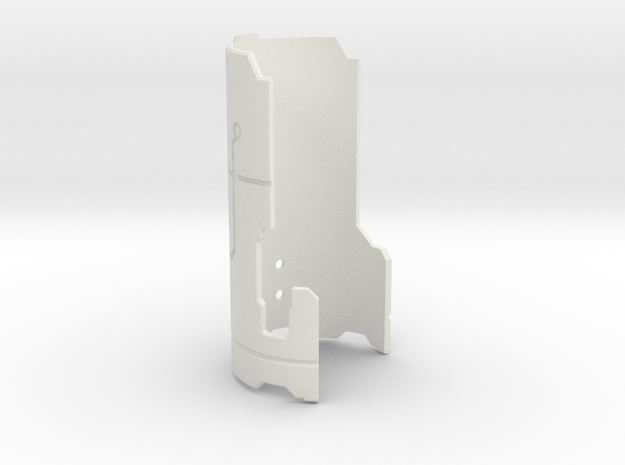 Custom Request - Mentor chassis cover part15 in White Natural Versatile Plastic