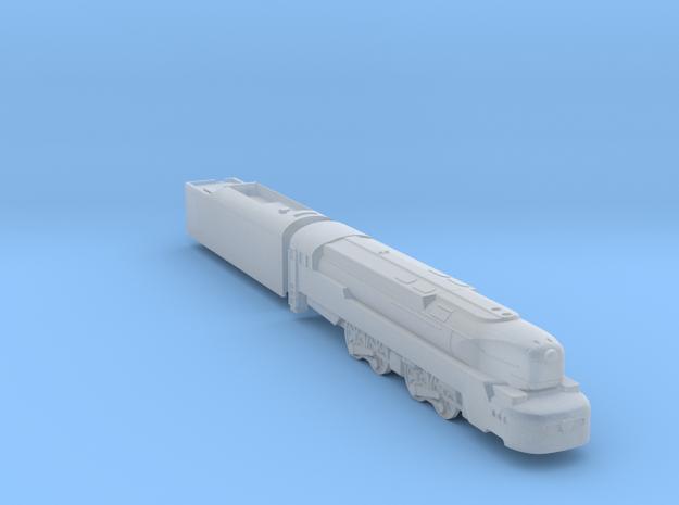 T1 Locomotive in Smoothest Fine Detail Plastic