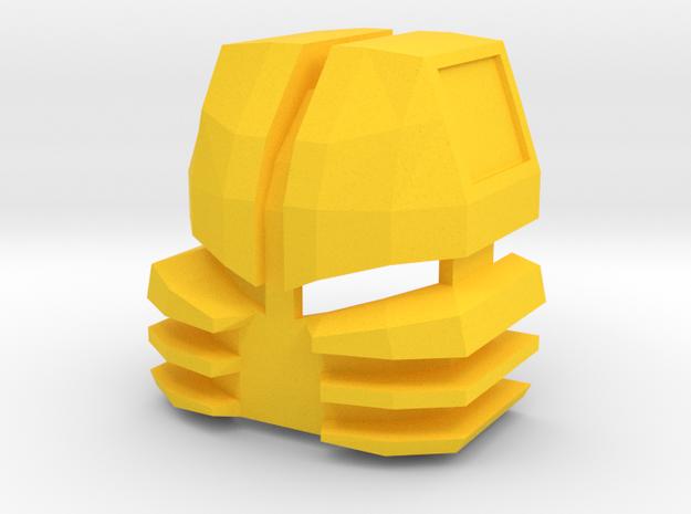 mutuku G3 in Yellow Processed Versatile Plastic