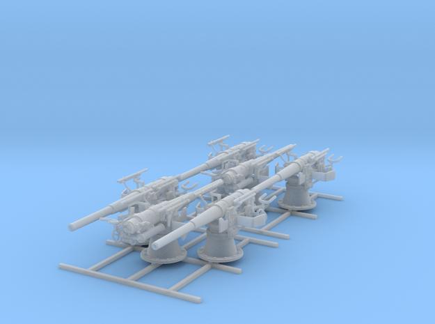 1/100 SMS Emden 10.5cm/40 SK L/40 Guns x6 in Smoothest Fine Detail Plastic