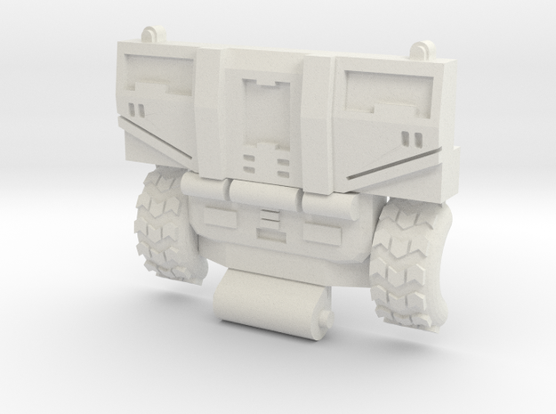 Hosehead/Cab chest for CW Hotspot /  POTP Inferno in White Natural Versatile Plastic