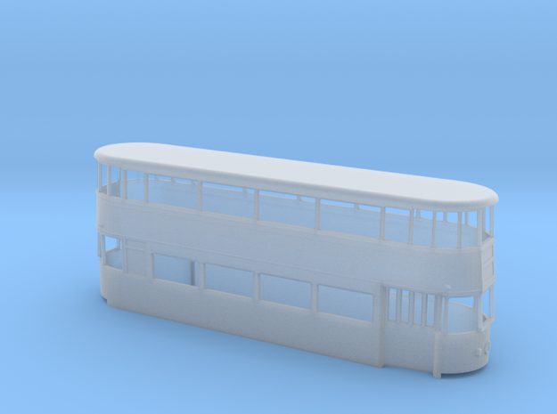 London Transport Tram 1, ex-LCC 1 (4mm) in Smooth Fine Detail Plastic