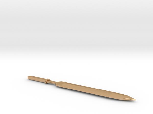 Will & Finck Push Dagger in Natural Bronze