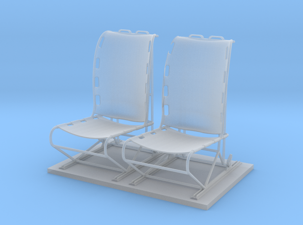 1.32 LAMA PILOT SEAT 2 in Smoothest Fine Detail Plastic