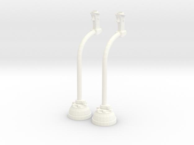 1.6 CYCLIQUE LAMA in White Processed Versatile Plastic