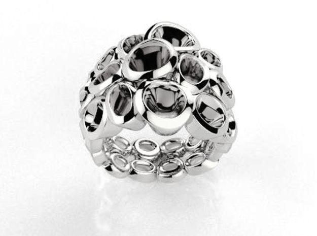 Molecular Ring (From $15 in Polished Silver: 6.25 / 52.125
